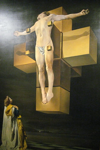 NYC - Metropolitan Museum of Art: Salvador Dalí's Crucifixion (Corpus Hypercubus)