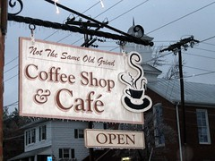 'Not the Same Old Grind' Coffee Shop by Mark Warner on Flickr!