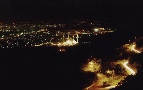 Islamabad from Margalla Hills