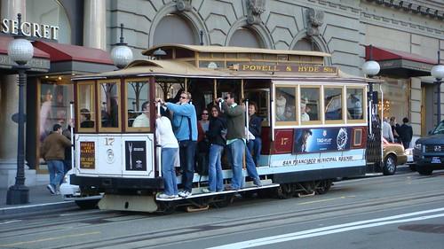 Uno dei famosi Tram