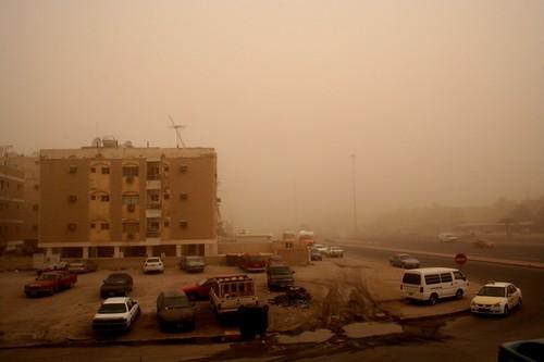 Duststorm : Salmiya