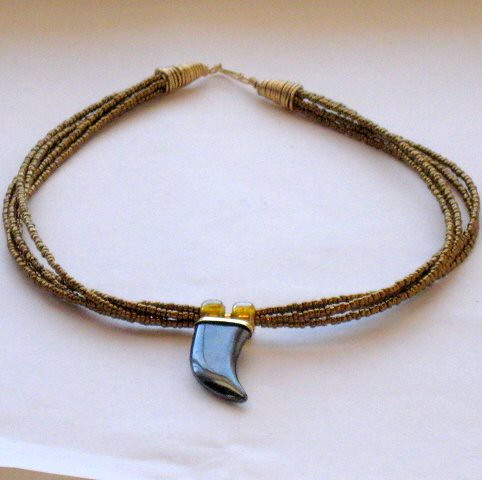 Lucky Horn Necklace
