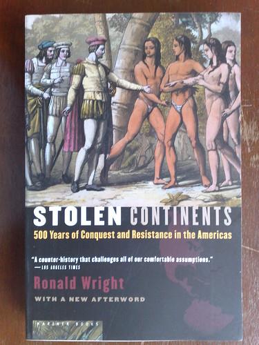 Stolen Continents por Ronald Wirght
