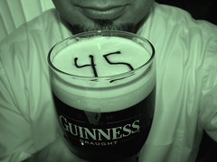 Day045 - St. Patricks Day (rabbibob) Tags: selfportrait self 45 guinness 365 2008 day45 stpatricksday goodhead saintpatricksday 365days rabbibob 200803 dnd365 rabbibobcom