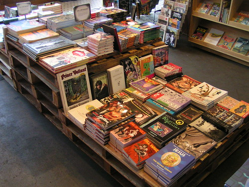 Fantagraphics Bookstore Spring Cleaning Sale, 4/11-4/13/08
