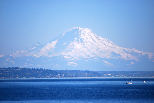 85-Mt Rainier Puget Sound
