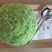 Green tea patbingsu (shaved ice)