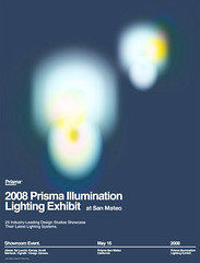 2008 Prisma Illumination Lighting Exhibit Poster (_Untitled-1) Tags: lighting abstract colors modern poster design graphic swiss illumination orb exhibit minimal osaka network simple 2008 modernist prisma