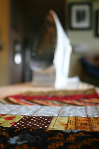 ironing patchwork