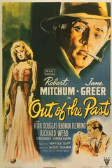 Out of the Past poster (turkeychik) Tags: janegreer robertmitchum outofthepast filmnoirposters filmnoirposter