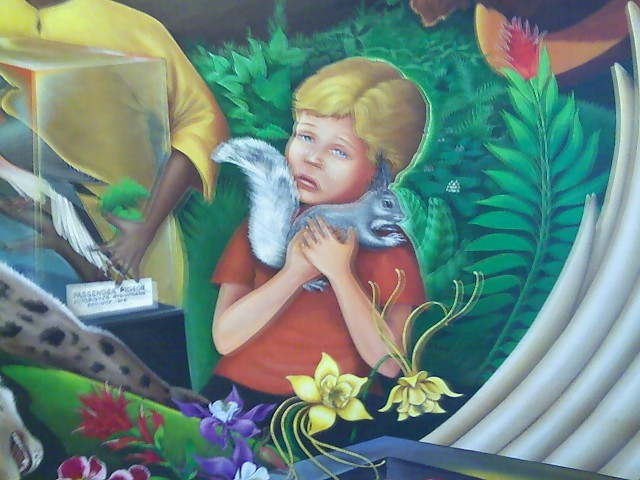 Denver Airport Creepy Mural
