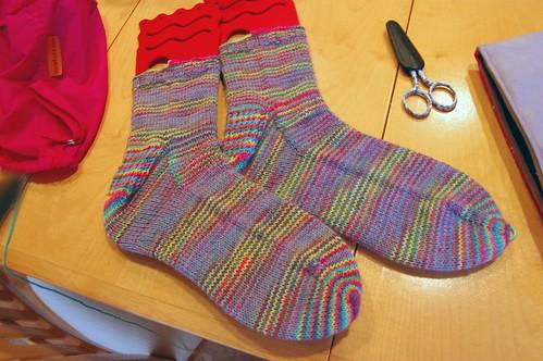 rutti tutti socks; complete!
