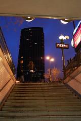 Paris - Montparnasse - sortie metro