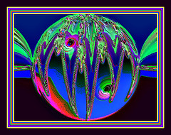 Space Ball (Rebel XT Shots / Bobbie) Tags: kaleidospheres kaleifractals