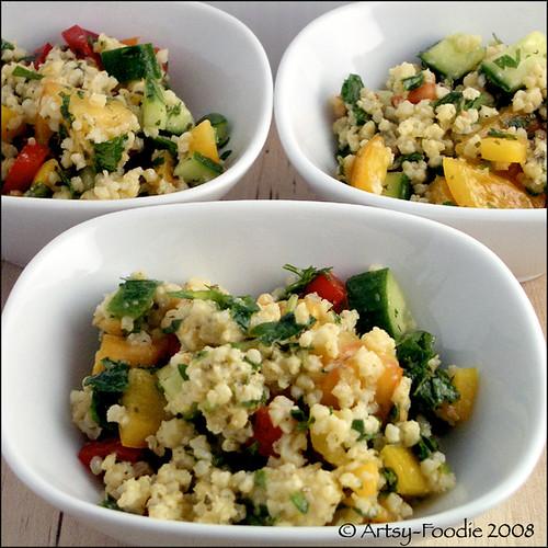millet salad bowls