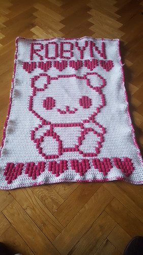 Bear blanket for Robyn