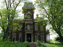 Judge Cyrus Ball House (Hammer51012) Tags: house architecture geotagged tippecanoecounty lafayetteindiana sp570uz judgecyrusball