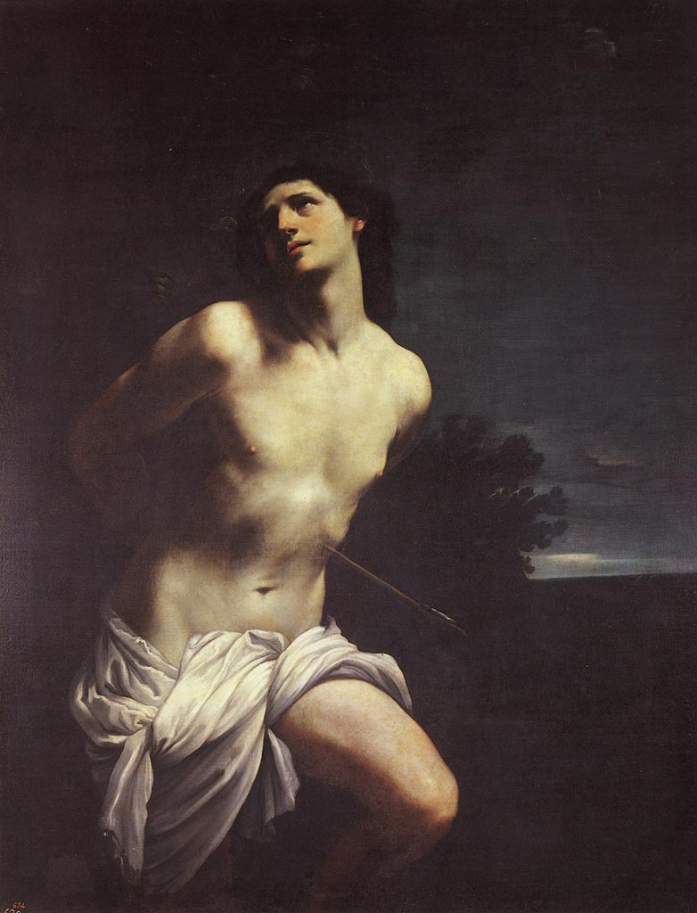Guido Reni (1575-1542) St Sebastian (c. 1617-1619) Oil on canvas, 170x 133 cm. Museo del Prado, Spain.