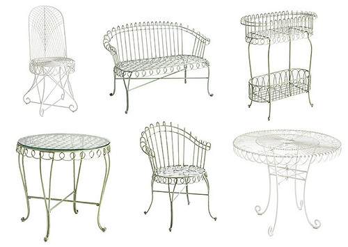 pier one: wirey outdoor furniture