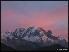 The great triad: Verte, Courtes, Droites (__Tristan__) Tags: sunset mountain france alps alpes aiguilleverte massifdumontblanc lesdroites lescourtes