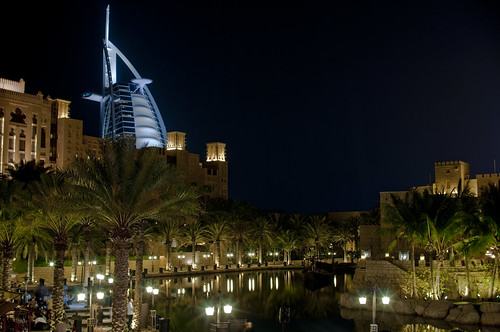Burj Al Arab from Palm Jumeirah