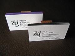 Zoë Grave Edge Colored Cards