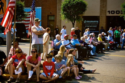 Memorial Day Parade 2011:  Veterans.