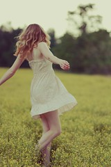 (say.today) Tags: flowers girl field spin free twirl
