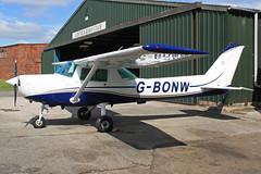 G-BONW (QSY on-route) Tags: club fly 55 th aero in lincon sturgate egcs gbonw 04062011