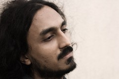 The Monk (pratheesh prakash) Tags: musician music india closeup sepia potrait shyam