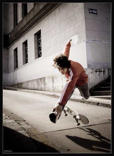 RE-POST: Skater in action