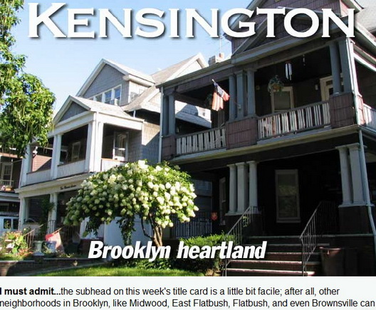 Kensington Brooklyn Heartland