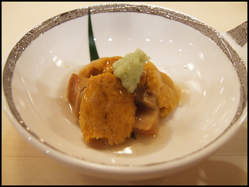 Urasawa (Los Angeles) - Abalone and Uni