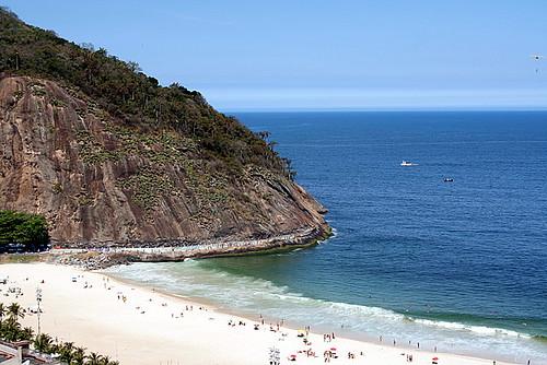 Ponta da Praia do Leme - RJ