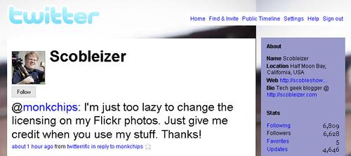 Twitter - Scobleizer 24/10/2007