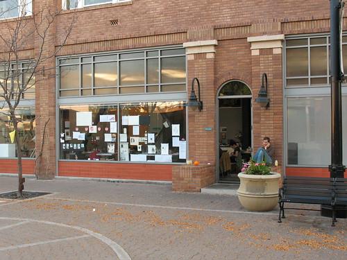 The studio store front