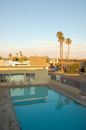Piscina del motel
