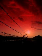 P.O.W. remembrance sunrise_6160 (jaciii (off&on)) Tags: red sun black sunrise canon fence gold wire pow veteransday rememberanceday naturesfinest topoftheline sd600 canonsd600 explore326 mywinners supershots flickrgold anawesomeshot superphotos superbmasterpiece crystalaward wowiekazowie diamondclassphotographer flickrdiamond onlythebestare favsofalltime bestsunriseandsunset oohsaahs betterthangood damncoolphotographersintheworld goldstaraward unafotoperunireilmondo goldenart greatpicturesoftheworld onephototownitetheworld saariysqualitypictures themonalisasmile photostoread