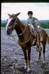 James on a horse in Mexico. (08/1973)