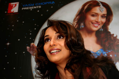 Bollywood actress Madhuri Dixit