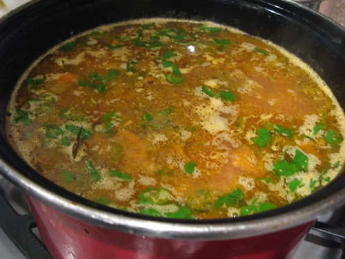 Pork Stew in the Pot