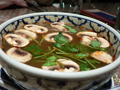 tom yum goong (stu_spivack) Tags: food mushroom soup shrimp thai lemongrass tomyumgoong