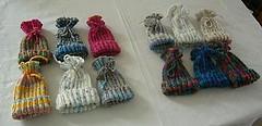 A Dozen Preemie Hats