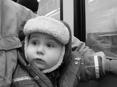 first time on the train