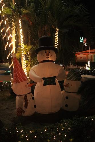 Decoraciones Navideñas - Frosty y su familia