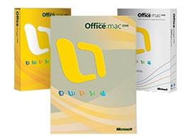 Office 2008 Boxes