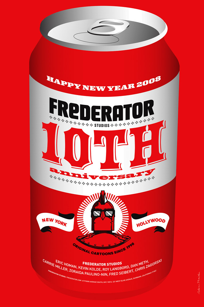 Frederator New Year Poster 2008