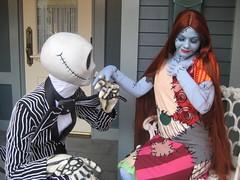 IMG_0322 (santasock) Tags: halloween jack character disney sally nightmarebeforechristmas skellington
