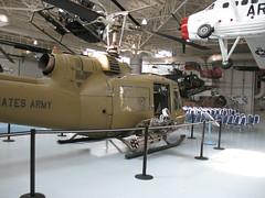"UH-1B ""Iroquois"" (rear)_3924 (hoyasmeg) Tags: museum army al war fort aircraft aviation military alabama hangar vietnam helicopter helicopters iroquois rucker fortrucker views50 views100 views200 views75 uh1b armyaviationmuseum 3264x2448 hoyasmeg"