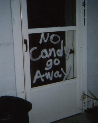 No Candy go Away